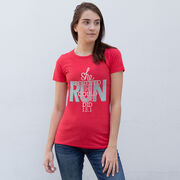 Women's Everyday Runners Tee She Believed She Could So She Did 13.1