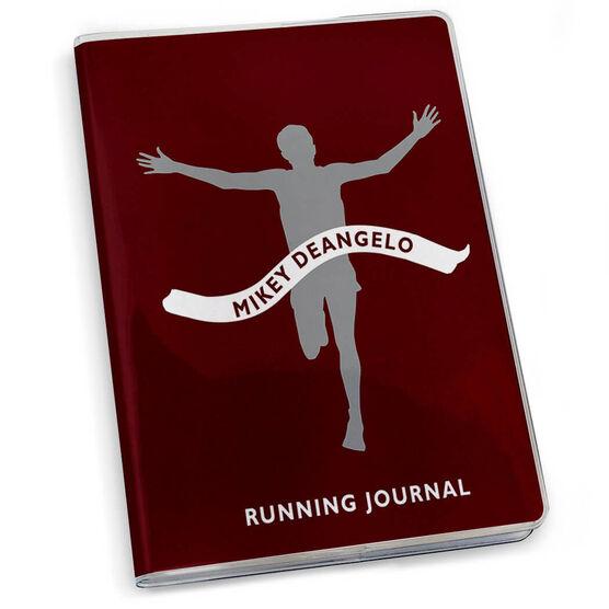 GoneForaRun Running Journal - Personalized Male Runner