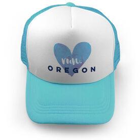 Running Trucker Hat Run Oregon