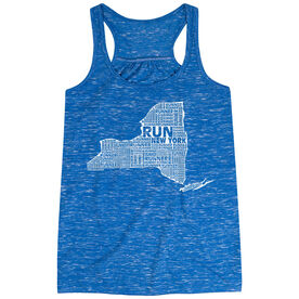 Flowy Racerback Tank Top - New York