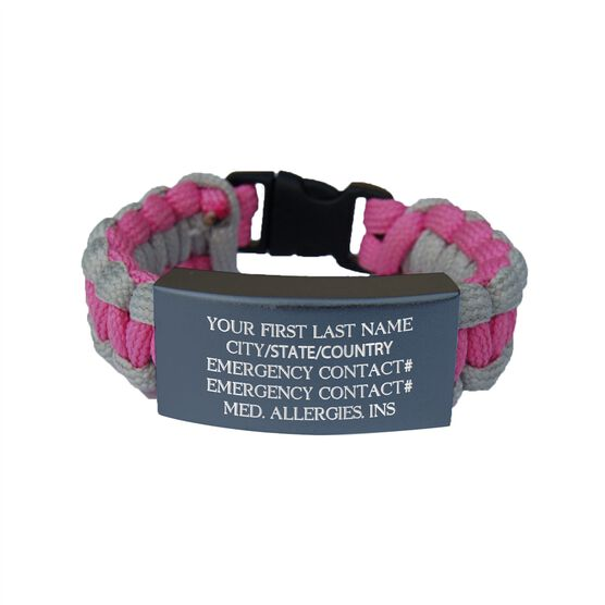 Paracord IDmeBAND Bracelet