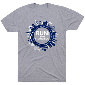 Running Short Sleeve T- Shirt - Run for San Francisco