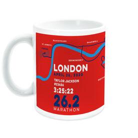 Running Coffee Mug - London 26.2 Route