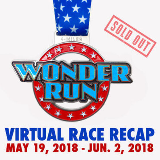 Virtual Race - Wonder Run 4-Miler (2018)