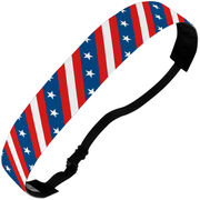 Athletic Julibands No-Slip Headbands - All American