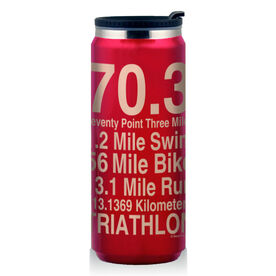 Stainless Steel Travel Mug 70.3 Math Miles