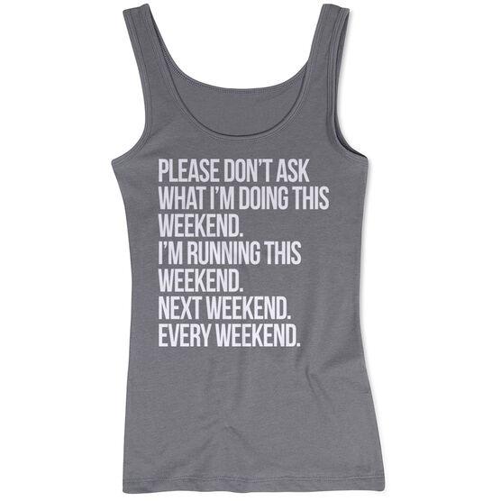 Running Women's Athletic Tank Top - All Weekend Running