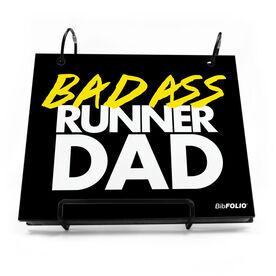BibFOLIO® Race Bib Album - Bad Ass Runner Dad