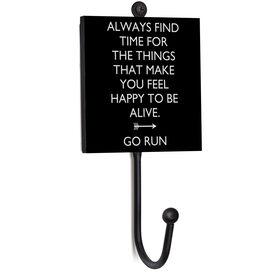 Running Medal Hook - Always Find Time