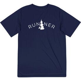 Men's Running Short Sleeve Tech Tee - Runner Tree