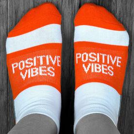 Socrates® Woven Performance Sock - Positive Vibes