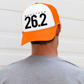 Running Trucker Hat 26.2 Marathon