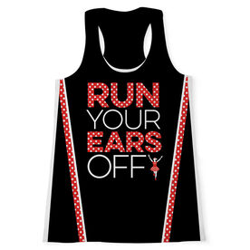 Women's Performance Tank Top - Run Your Ears Off
