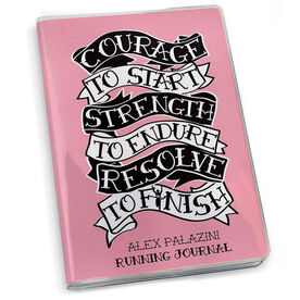 GoneForaRun Running Journal - Courage to Start Tattoo