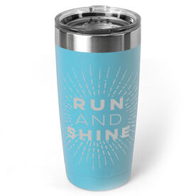 Running 20 oz. Double Insulated Tumbler - Run and Shine