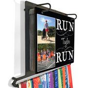 BibFOLIO+™ Race Bib and Medal Display Run Your Name Run With Your Photos