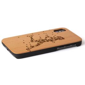 Running Engraved Wood IPhone® Case - Heartfelt Run