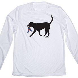 Men's Running Long Sleeve Tech Tee Rex The Running Dog