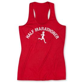 Women's Performance Tank Top - Half Marathoner Girl
