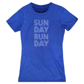 Women's Everyday Runners Tee - Sunday Runday (Stacked)