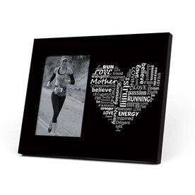 Running Photo Frame - Runner Mom's Heart