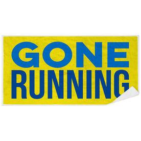 Running Premium Beach Towel - Gone Running