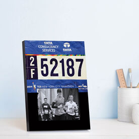 Running Photo Frame - Your Race Bib