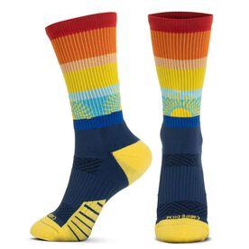 Socrates® Mid-Calf Performance Socks - Carpe Diem