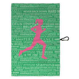Running Workout/Golf Towel Inspiration Female