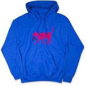 Running Standard Sweatshirt Roxi the Running Dog