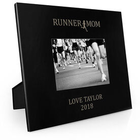 Running Engraved Picture Frame - Runner Mom