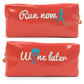 Run Now… Wine Later Runner's Cosmetic Bag - Lexi
