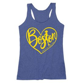 Women's Everyday Tank Top - Love The Run Boston 26.2