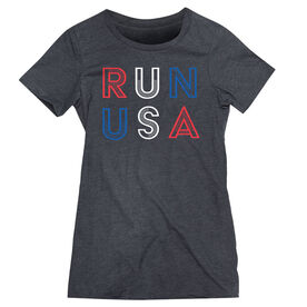 Women's Everyday Runners Tee - Run USA