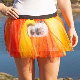 Runner's Printed Tutu Goofy Turkey