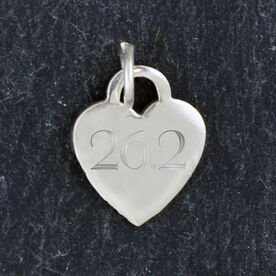 Sterling Silver 13 mm Heart Charm 26.2