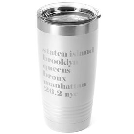 Running 20 oz. Double Insulated Tumbler - Run Mantra (NYC)