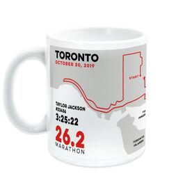 Running Coffee Mug - Personalized Toronto Map