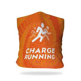 Running Multifunctional Headwear - Charge Running Logo Tie-Dye RokBAND