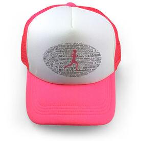 Running Trucker Hat Inspiration Female