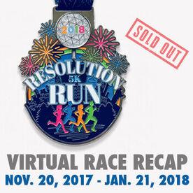 Virtual Race - 2018 Resolution Run Virtual 5K