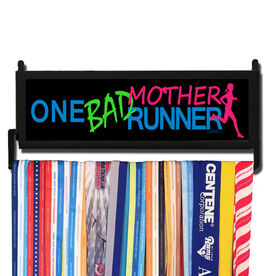RunnersWALL One Bad Mother Runner Medal Display