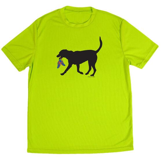 Men's Running Short Sleeve Tech Tee Rex the Running Dog