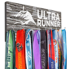 Running Hooked on Medals Hanger - Ultra Runner