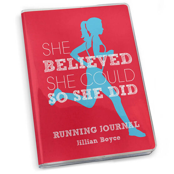 GoneForaRun Running Journal - She Believed She Could