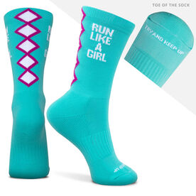 Socrates® Mid-Calf Performance Socks - Run Like a Girl