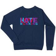 Running Raglan Crew Neck Sweatshirt - Love Hate Running
