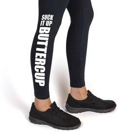 Runner's Leggings Suck It Up Buttercup
