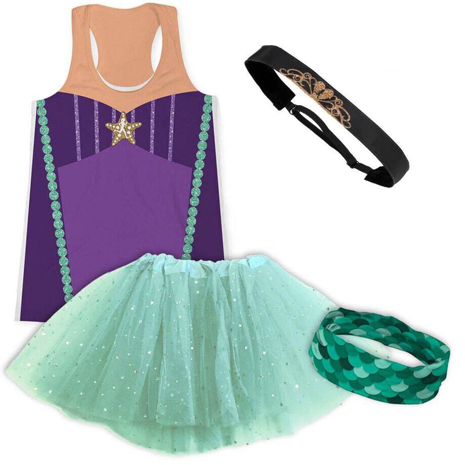 Mermaid Running Outfit