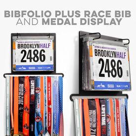 Click To Shop All BibFOLIO® Plus Bib and Medal Displays